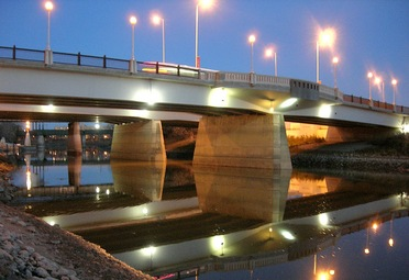 Main Street Bridge Assiniboine River